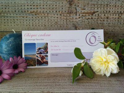 Plaisir d'offrir Bon cadeau Massages bien-être et/ou séance de sauna infrarouge privative Ô bien-être massage Porspoder / Brest / Finistère