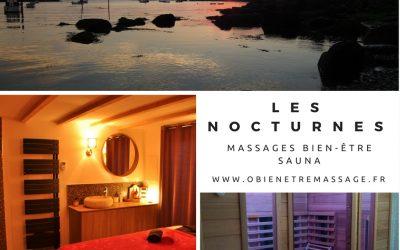 Ô bien-être massage lance les nocturnes